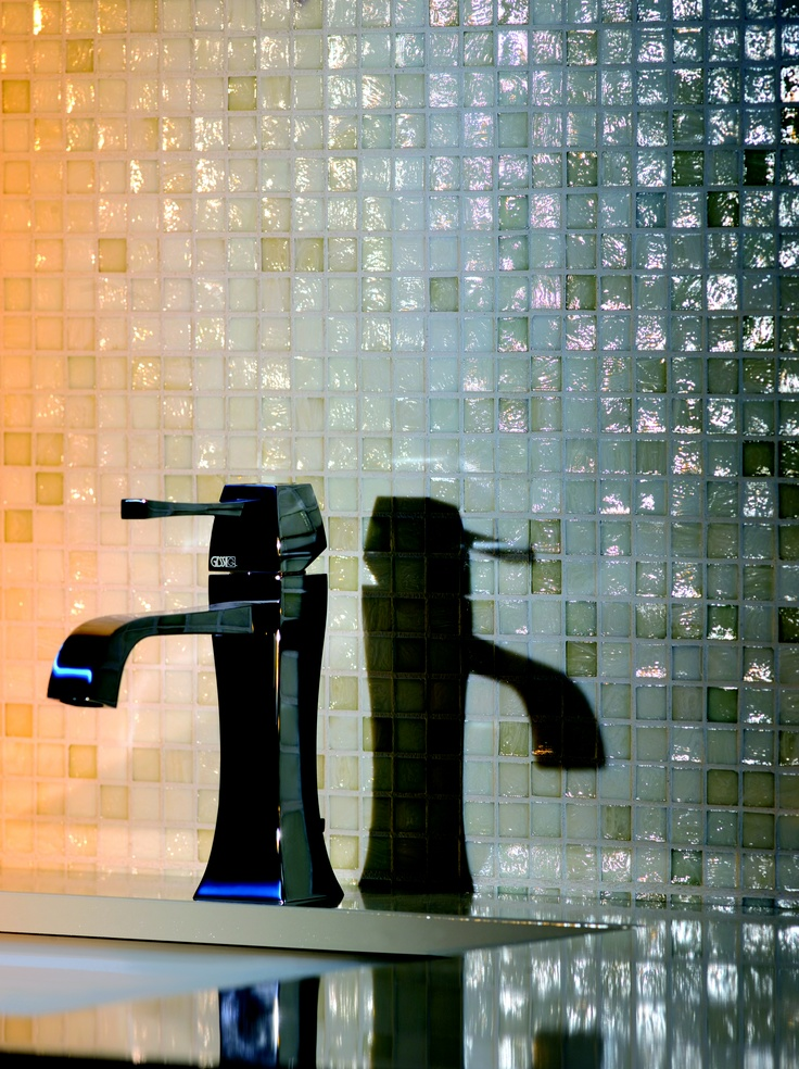 Best Gessi Mimì Images On Pinterest Basin Mixer Bathroom - Contemporary waterfall faucets riflessi from gessi
