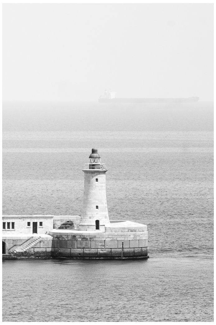 The lighthouse in Valletta - null