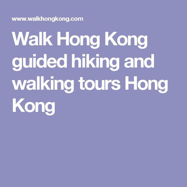 Walk Hong Kong guided hiking and walking tours Hong Kong