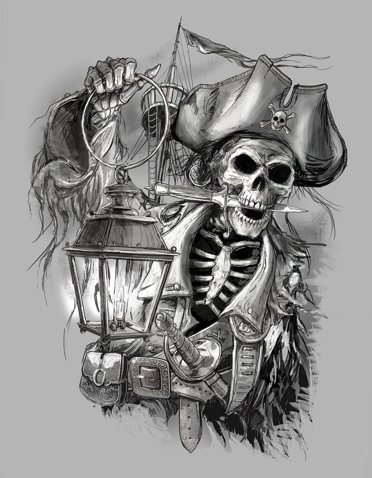 Pirate tattoos are coming with a variety of different symbols, which are associated to the pirate theme. Description from pinterest.com. I searched for this on bing.com/images