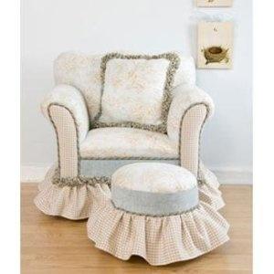 Love The Matching Footstool   Darling   Definitely MY Style · Beach Baby  NurseriesOverstuffed ChairsClub ...