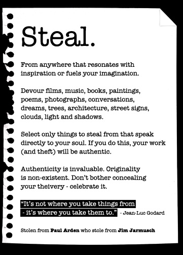 """These words could open a big can of worms. Or they may resonate true to some others. Change the word """"steal"""" to """"influence you"""" and it works for me. But then the last sentence of the fourth paragraph really piss me off."""