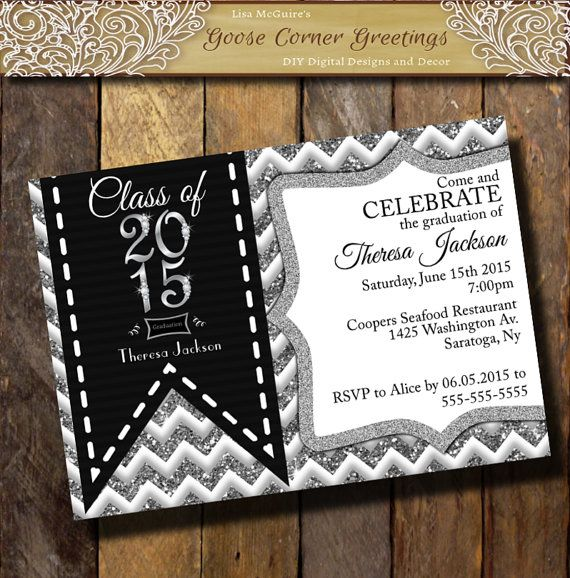 9 best images about grad invites on pinterest | disney, disney, Birthday invitations