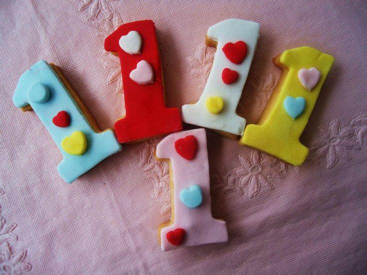 1yaş doğum günü kurabiyeleri