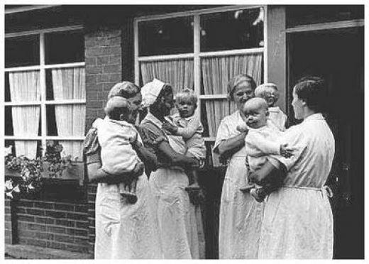 Lebensborn babies nazi germany