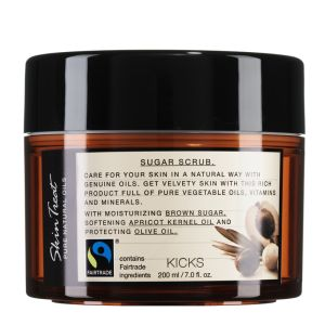 KICKS  Skin Treat Pure Natural Oils Sugar Scrub