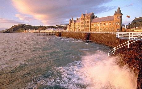 Aberystwyth University by the Sea