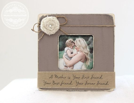 mothers day gift personalized picture frame gift for mom mother a mother is your first friend - Mother Frame