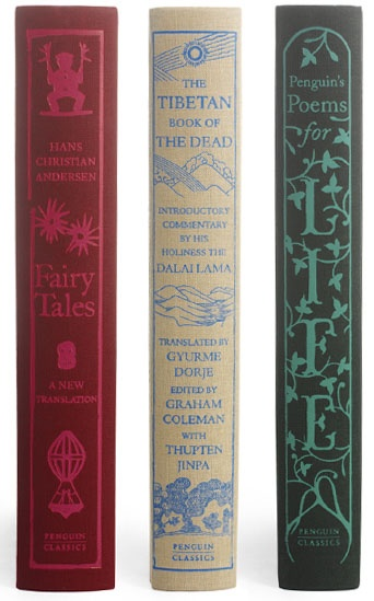 Penguin Classics covers by Coralie Bickford-Smith