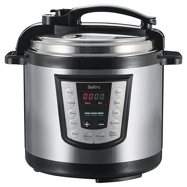 Bellini BTPRC250 6L Pressure Cooker