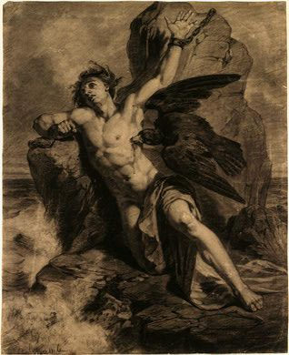 The Athenaeum - Prometheus Bound (Christian Schussele - No dates listed)