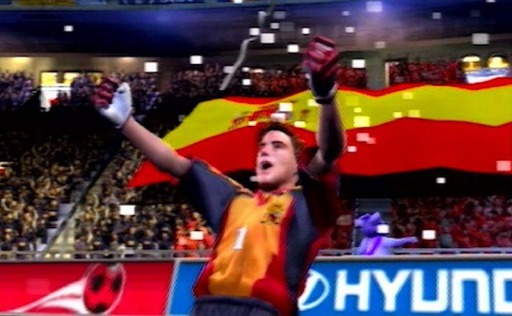 2002 FIFA World Cup winners Spain