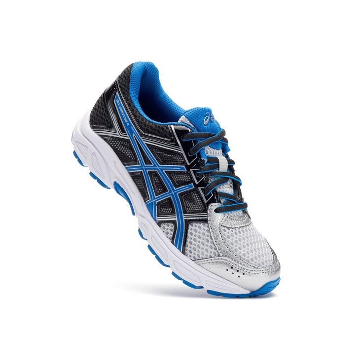 ASICS GEL-Contend 4 Grade School Boys' Running Shoes, Size: 4 Wide, Grey Other