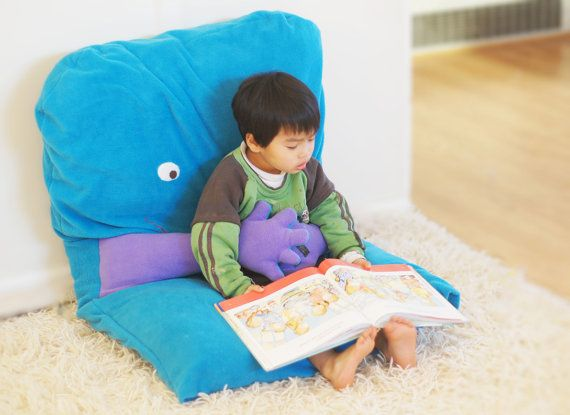 """Huggy the Large Floor Pillow (That Hugs) -- 45""""x30""""x6"""" on Etsy, 59,98€"""