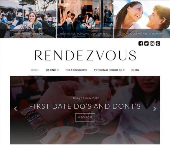 http://www.rendezvousmag.com | Rendezvous Magazine - Rendezvous magazine is a online magazine that features Dating, Relationships and Personal Success. Our focus is on providing tips, Ideas, and actionable advice on how to create the best life for men & women and with ourselves. We also have areas for wellness, travel, events and music playlists for different occasions.