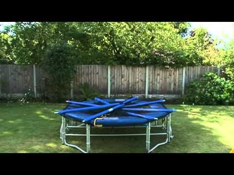 8ft Folding Trampoline with free delivery, Octopus Leisure