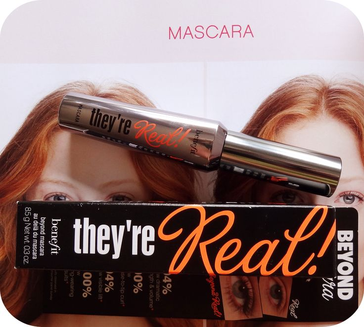 Benefits They're Real! Mascara