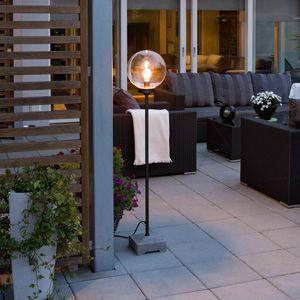 Konstsmide 455-750EE Lodi Outdoor Matt Black Floor Lamp. http://www.scotlightdirect.co.uk/konstsmide-455-750ee-lodi-outdoor-matt-black/p27909