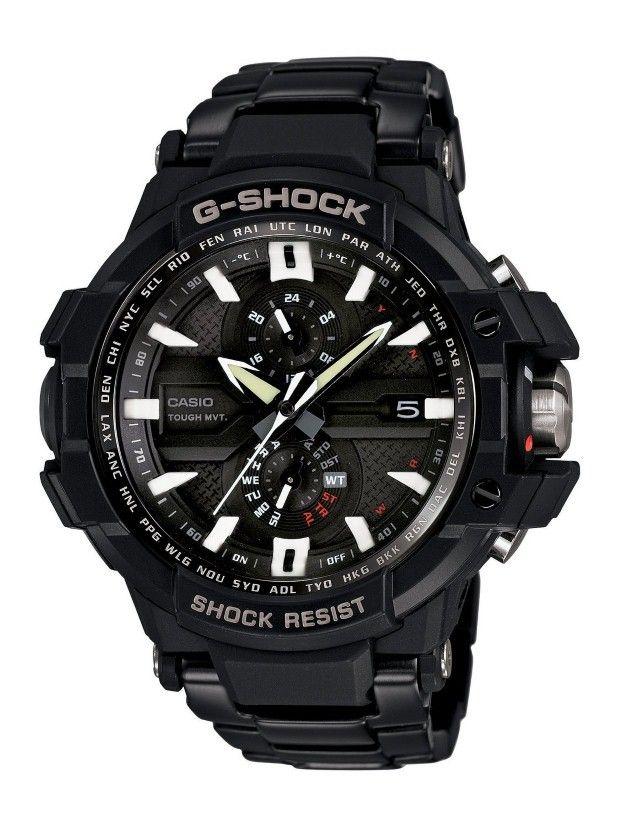 Casio Men Watches : Casio Men's GWA1000D-1A G-Aviation G-Shock Watch