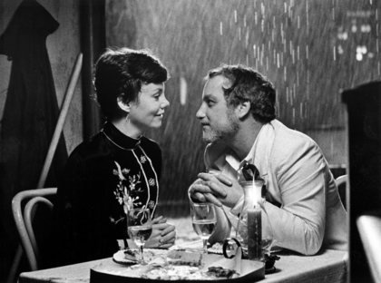 """I happen to have a lawyer acquaintance?""  ""The Goodbye Girl"" Richard Dreyfuss, Marsha Mason 1977 Warner Brothers"