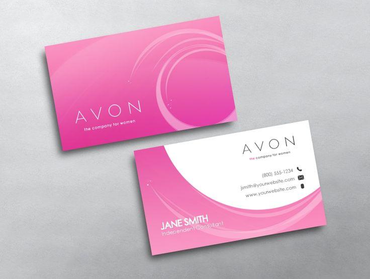 как заказать визитки avon