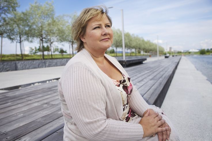 Erna Solberg - a conservative socialist racist atypical Norwegian.