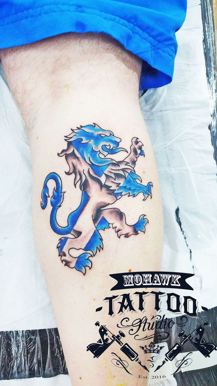 Lion Rampant by Gary :) Remember to like and share our posts for a chance to win a £50 gift voucher at the end of the month! :)#tattooed #tattoos#tattooist#tattoocommunity #lion #rampant #lionrampant#newtattoo #scotland #paisley#cool #cooltattoo #nice#nicetattoo #awesome#awesometattoo #mohawktattoo#mohawktattoos#mohawk#supportgoodtattoos #ink #inked #goodtattoos