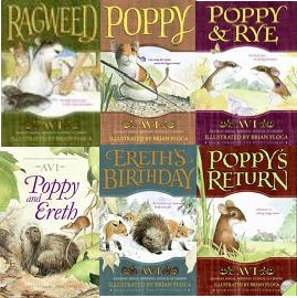 Poppy series by Avi--One of my favorite series of books for kids..Loved reading Poppy as a Classroom Read-Aloud.