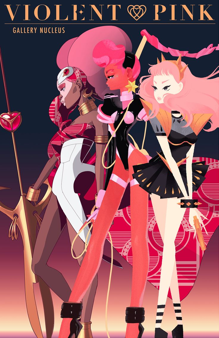 We've kept it under wraps for a while but we're really excited to finally announce the book launch and exhibition of Violent Pink at Gallery Nucleus! The exhibition will include tribute pieces of the...