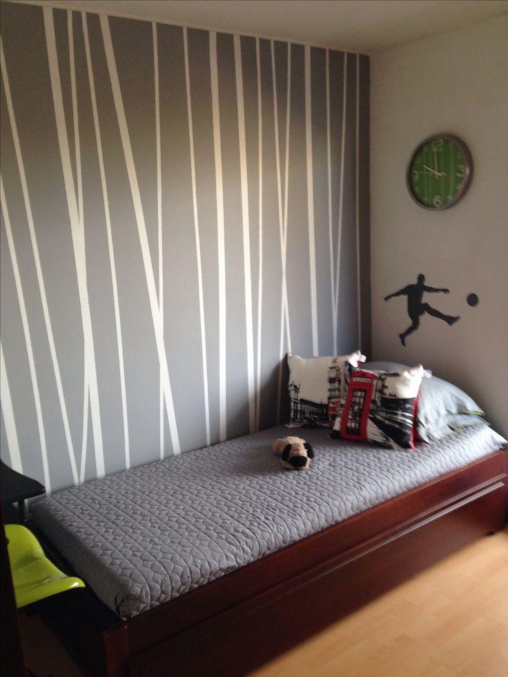 M s de 25 ideas fant sticas sobre paredes pintadas a rayas for Papel de rayas para pared