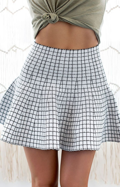 Upper East Side Knit Skirt #BBFEST #beginningboutique