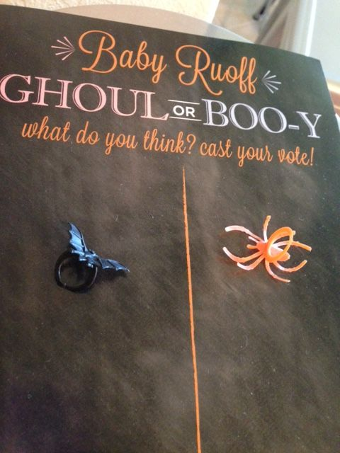 Halloween Gender Reveal Idea | Boo-y of Ghoul | Austin Moms Blog