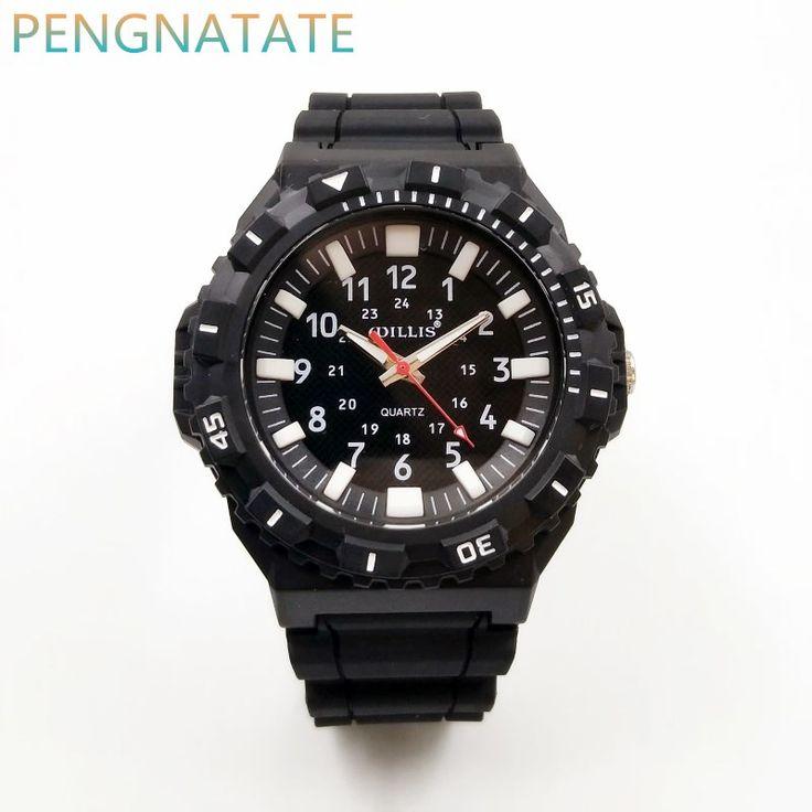 $8.89 (Buy here: https://alitems.com/g/1e8d114494ebda23ff8b16525dc3e8/?i=5&ulp=https%3A%2F%2Fwww.aliexpress.com%2Fitem%2FFashion-Men-Casual-Watches-WILLIS-Brand-Waterproof-Quartz-Compass-Watch-Sports-Leisure-Patterns-Plastic-Simple-Watch%2F32776001683.html ) Fashion Men Casual Watches WILLIS Brand Waterproof Quartz Silicone Watch Sports Leisure Patterns Plastic Simple Watch PENGNATATE for just $8.89