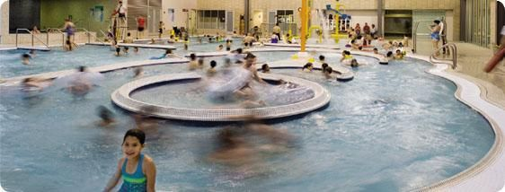 Firstenburg Community Center. Lazy river, zero-entry area, three-lane lap pool and spa and water slide. Adults $7; kids 4-18 $4.  Firstenburg Community Center 700 NE 136th Ave Vancouver, WA 98684