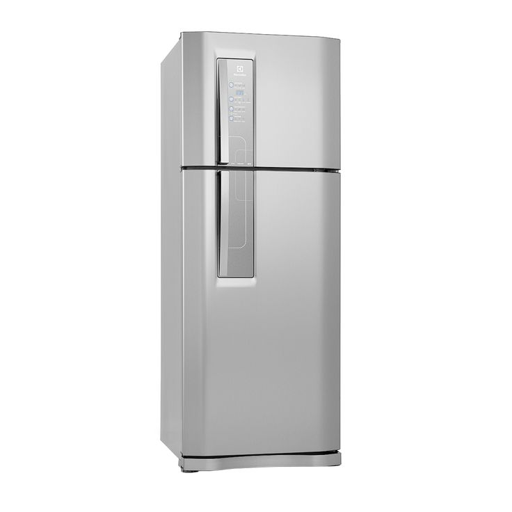 mesa jardim carrefour: Electrolux Top Freezer 2 Portas DF51X 427 Litros Inox 220V