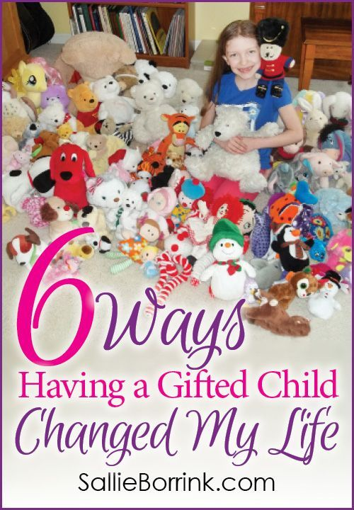 Having a gifted child will change your life, often in ways you never expect. Here are six ways my gifted child changed my life - for the better! #onlychild #giftedchild #giftedness
