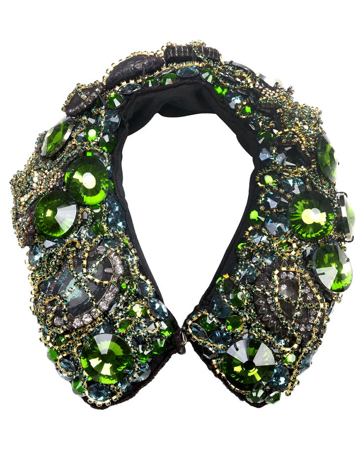 EMERALD CRYSTAL COLLAR | GREEN