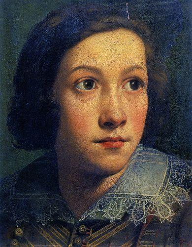 Portrait of a Boy,  Private Collection DANIELE CRESPI (Busto Arsizio, 1598 – Milano, 19 luglio 1630)  #TuscanyAgriturismoGiratola