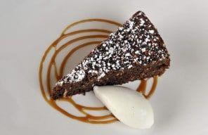 Chocolate Coconut Porter Cake