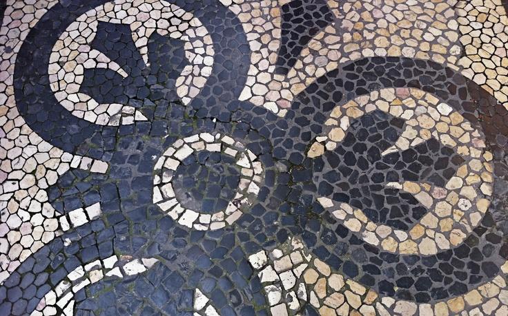 Lisbon sidewalks