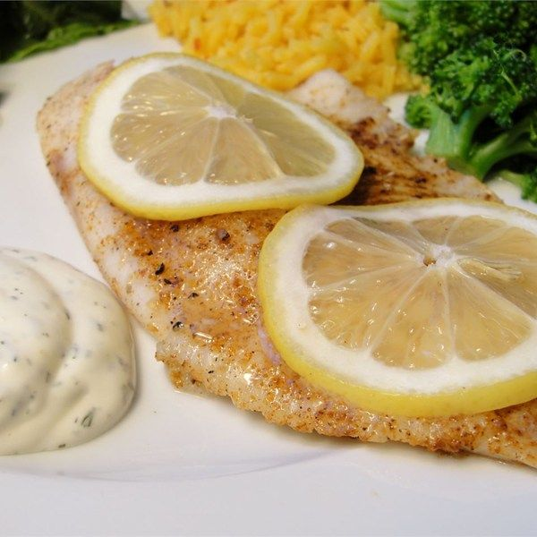 100 baked tilapia recipes on pinterest tilapia recipes for Dill sauce for fish