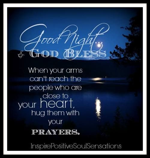 Goodnight Sweetheart Quotes Blessed good night: Go...