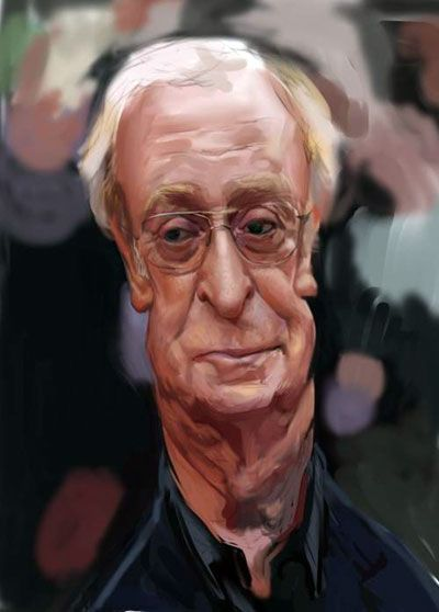 Michael Caine by Angineer Ang, South Korea                                                                                                                                                                                 More