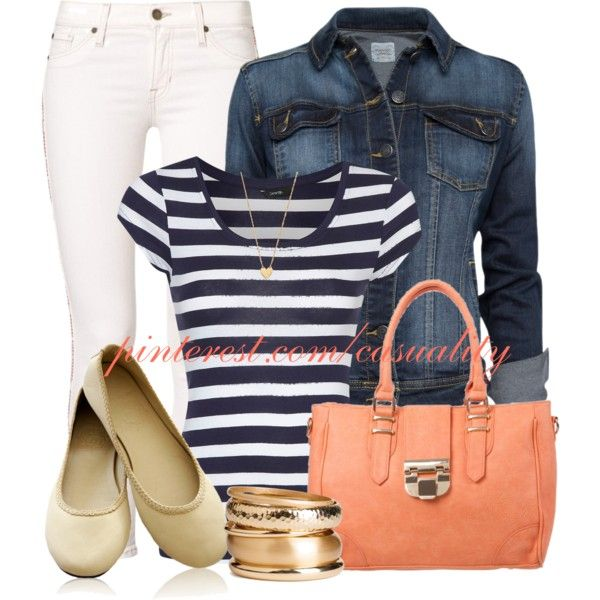 Stripes & Denim Casual