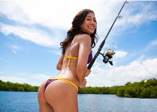 Mia needs a fishing buddy tag a mate that would give mia for Women who fish