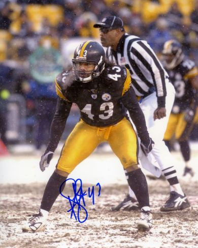 Troy Polamalu Pittsburgh Steelers Photograph at Art.com