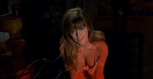 "scrapsofthepast:  "" Edina Ronay as Mary Kelly in A Study in Terror (1965)  """
