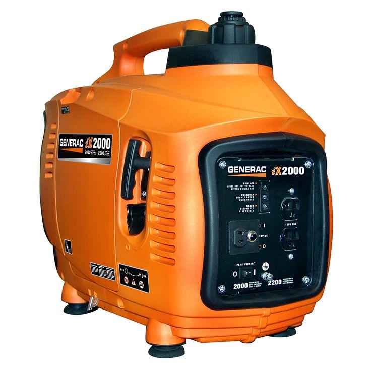 Generac 6719 2000 Watt Portable Inverter Generator IX Series