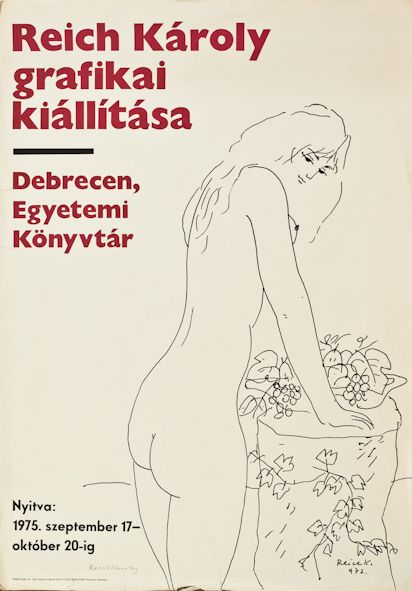 Exhibition poster, 1975