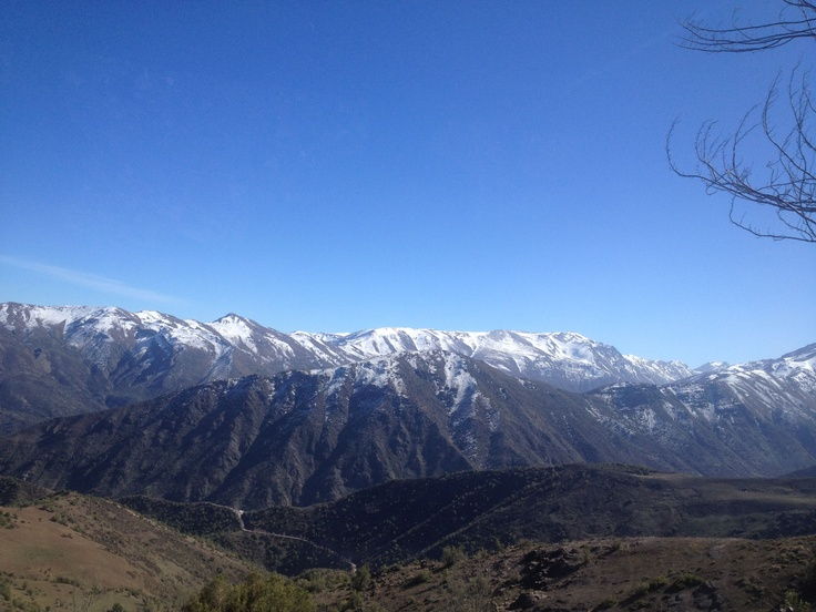 Gorgeous Chile!  Snow ski in July and August!